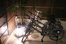 自転車4台 ご自由にご利用ください