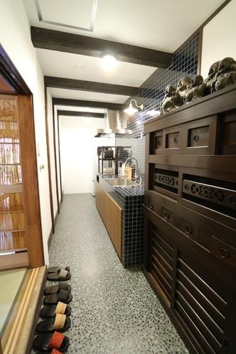 キッチンスペース 調理用具や器などご自由にお使いください