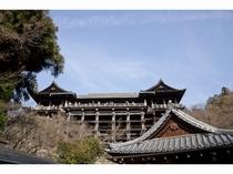 清水寺2 京都まで当館すぐのバス停より直通高速バス約45分 (1時間に1本運行)