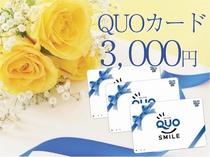 【QUOカード付】出張応援QUOカード3000円付プラン