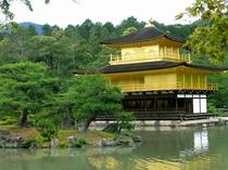京都 金閣寺 京都まで当館すぐのバス停より直通高速バス約45分 (1時間に1本運行)