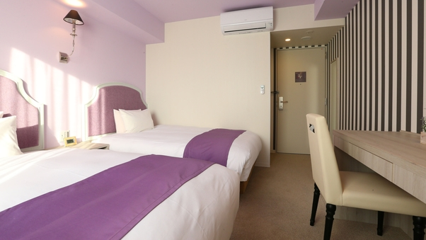 【全室禁煙】ツインルーム120cm幅ベッド2台