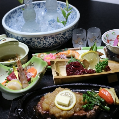 地酒飲み比べ♪地酒2種類付!会津手打ちそばと郷土料理を味わう2食付プラン【巡るたび、出会う旅。東北】