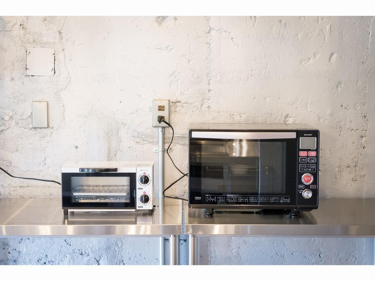 レンジ・トースター・炊飯器・冷蔵庫など各種調理機器&器具、調味料もございます。