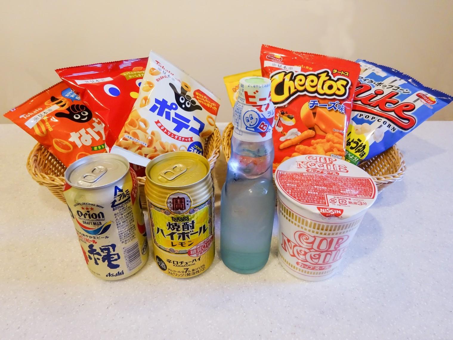 スナック&飲み物も販売中〜〜〜〜!!!!