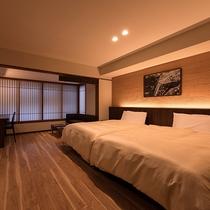 【町家スタイル◇電動セミダブル】宮島の町屋をイメージしたお部屋。コンパクトに全て揃った過ごしやすさ。