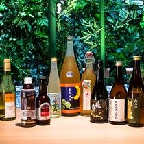 広島の美味しい日本酒にワイン、地ビールもご用意しております。美味しいお料理と共にお楽しみください