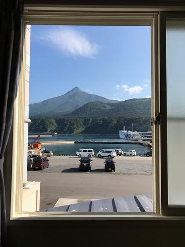 眺望確約のお部屋からの景色
