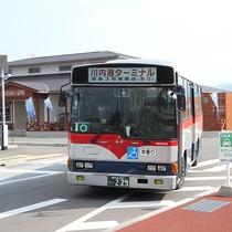 *川内港から出ている路線バス。