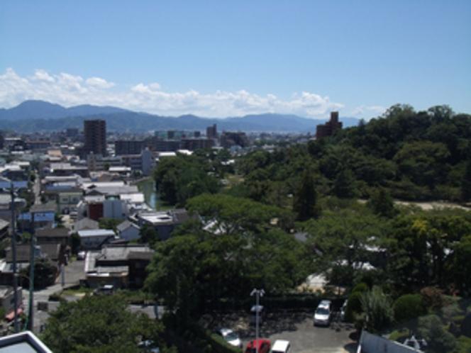メルパルクからの眺望【南西方向】