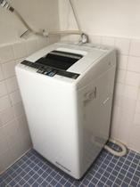 セカンドフロアルーム(二階)洗濯機