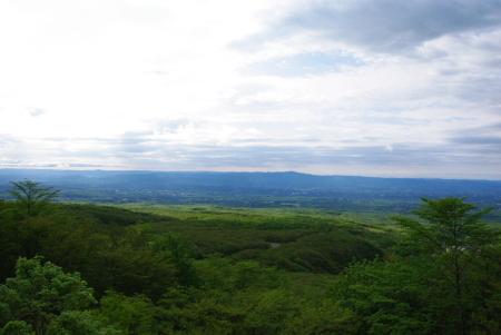 「恋人の聖地」那須展望台からの風景♪