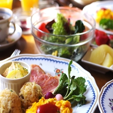 【朝食付き】旬の野菜が盛りだくさん♪特製スープ&とちぎ和牛のご飯が人気!チェックインは23時まで♪