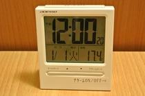客室備品:目覚まし時計
