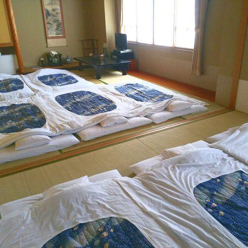 和室16畳布団8枚
