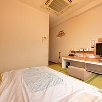*和室シングル(客室一例)/ビジネスや一人旅に◎足を伸ばしてのんびりとお寛ぎ下さい。