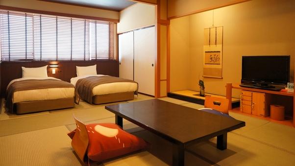 【スーペリア】白雲南館ベッド客室(和室8畳)■7月より禁煙