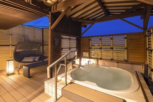 【デラックス】天祥の館温泉露天風呂付スイート366号室◆分煙