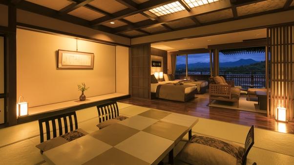 【デラックス】天祥の館「然 Zen」スイート客室◆分煙S