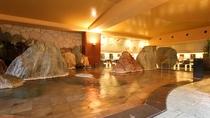 大浴場「滝見の湯屋」