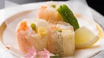 追加お料理 海老と蟹の俵揚げ(イメージ)