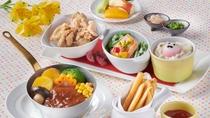 幼児(食事布団付)大人料金の50%お子様夕食イメージ