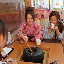 健康茶(館内無料サービス)夏季休止