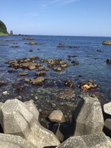 打越下の浜