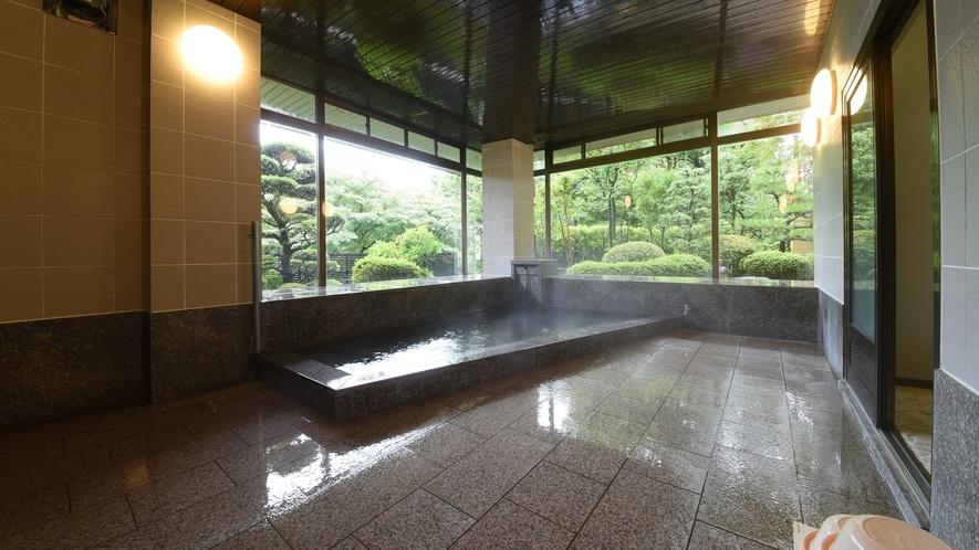 *【温泉大浴場】下呂温泉の宿でも珍しい、源泉100%かけ流しが自慢です★