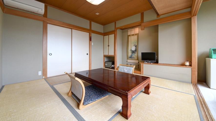 *【和室8畳】当館のスタンダード客室です。畳でのんびりおくつろぎください♪