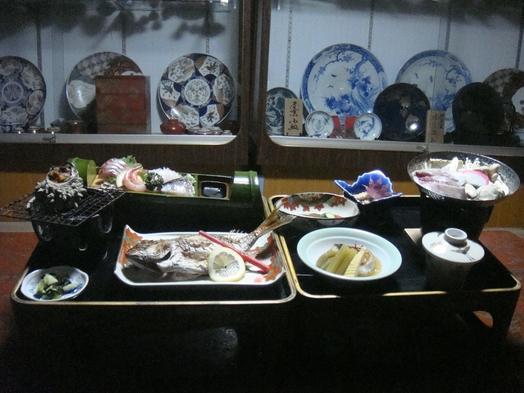【佐渡ドライブ旅】【一泊二食付きプラン】地物の佐渡の海の幸を中心とした郷土料理をご堪能♪