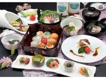 てまり寿司と春の旬彩会席
