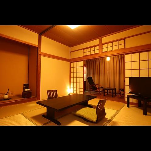 客室飯綱・黒姫は、和室八畳のスタンダードな和室です。