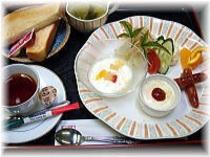 ■朝食 洋食一例