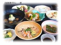 ■夕食付プラン ◆会席料理 春のコース一例