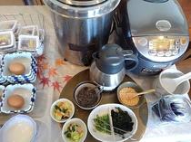 ■朝食 ◆朝一番に取った鰹出汁のお茶漬けセットもご用意