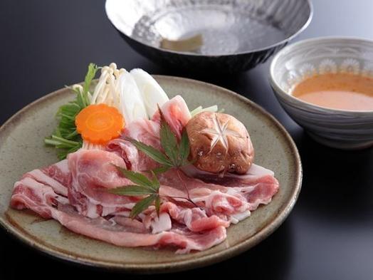 越後もち豚と季節の地野菜がたっぷり◆温泉でしっとり『美肌の湯』&MIKIMOTO COSMETICS