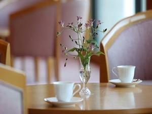 ロビーでのコーヒー