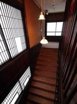 せせらぎ館 階段