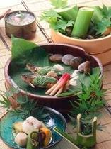 見た目に涼しい夏の旬彩料理