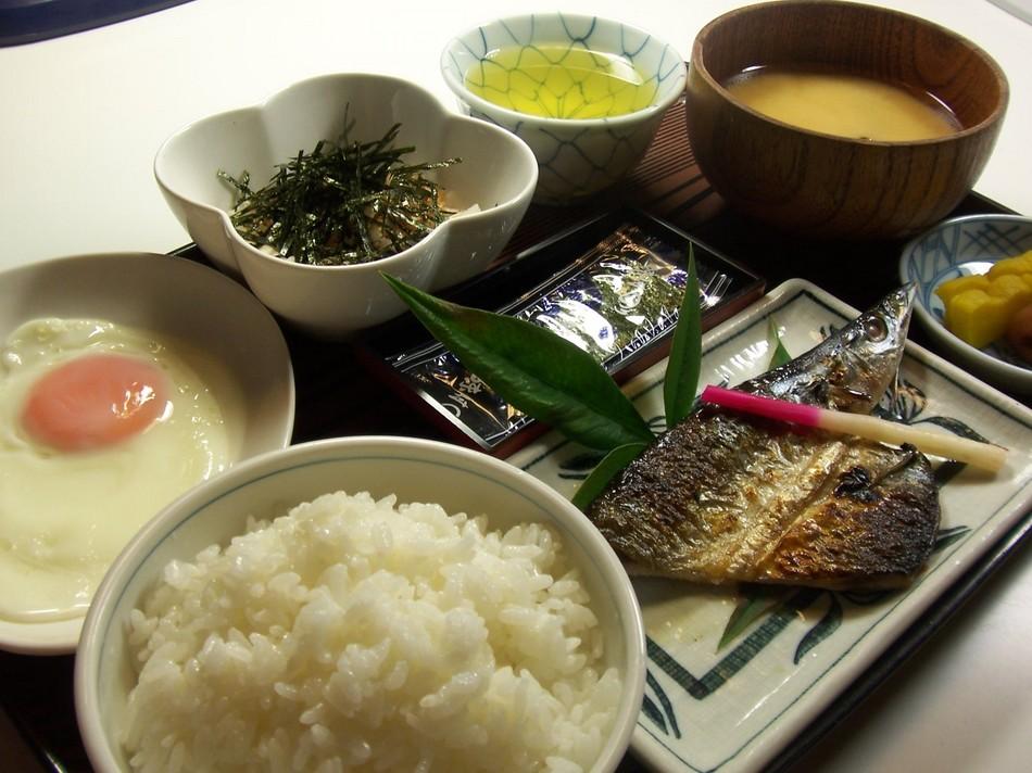 清瀧の朝食4