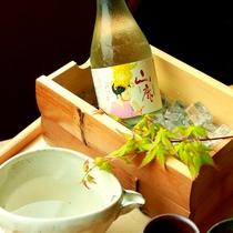 日本酒も地のものにこだわりました