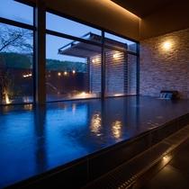 大浴場 加藤清正公が汗疹を治したと伝えられる源泉掛け流し100%の良質天然いで湯