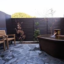 貸切風呂 「畳の湯」露天風呂