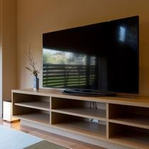 客室 大画面テレビをご用意しております