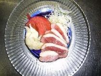 【料理の一例】鴨のマリネ