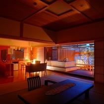 【部屋】別邸「個止吹気亭」コンフォートスイート(和洋室)283号室<イメージ>