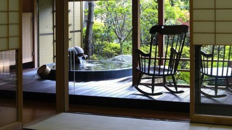 【部屋】別邸「個止吹気亭」ガーデンスイート(和室)171号室<イメージ>