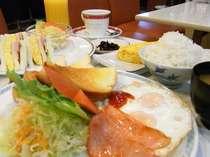 朝食アップ写真
