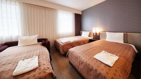 【喫煙可】トリプルユース(22平米)ベッド幅110cm